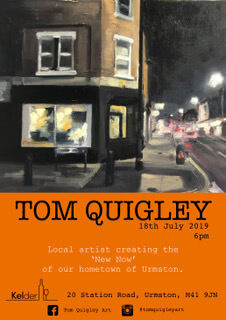 Tom Quigley – Art exhibition for Indie Urmston