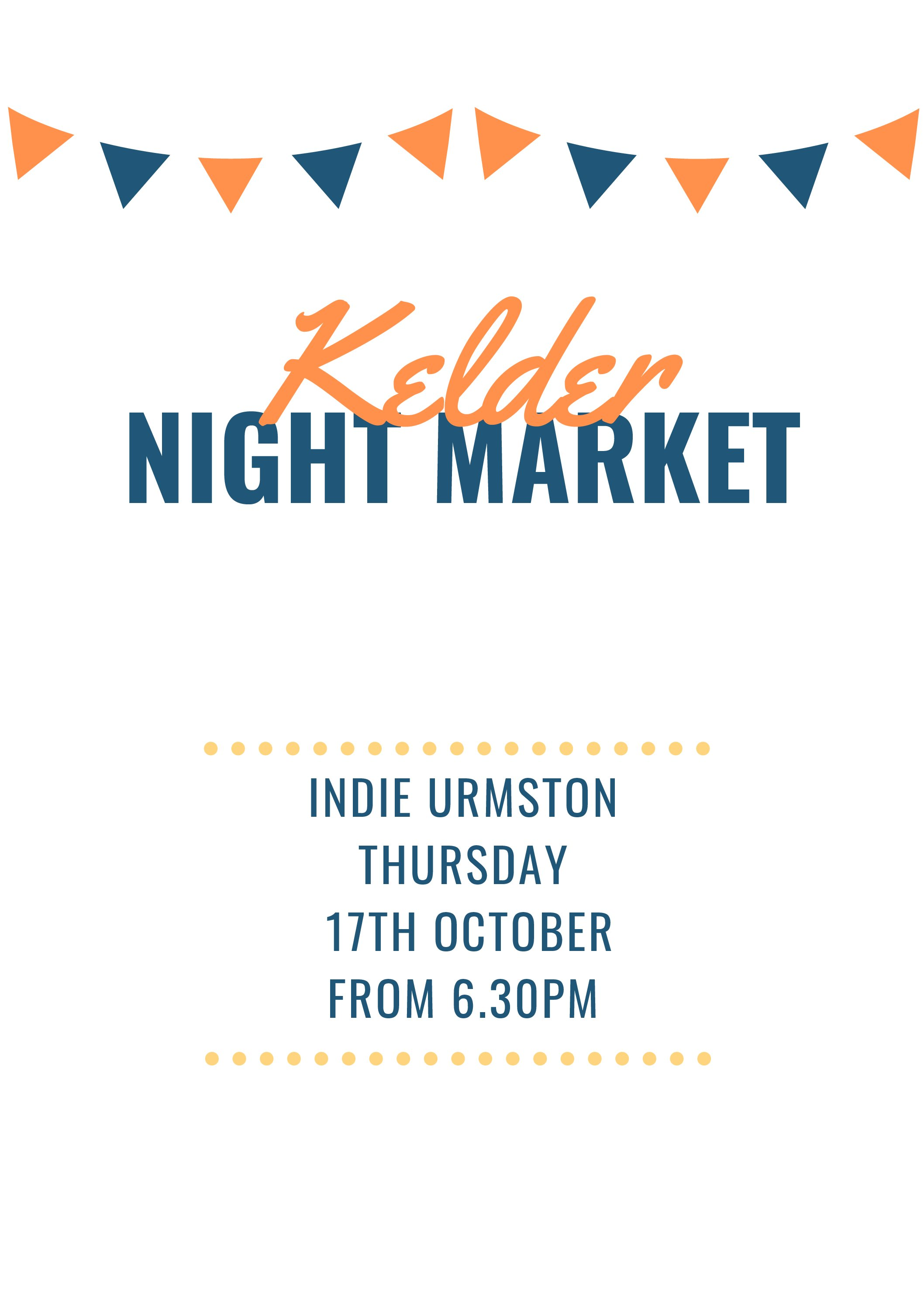 Indie Urmston – Kelder Night Market