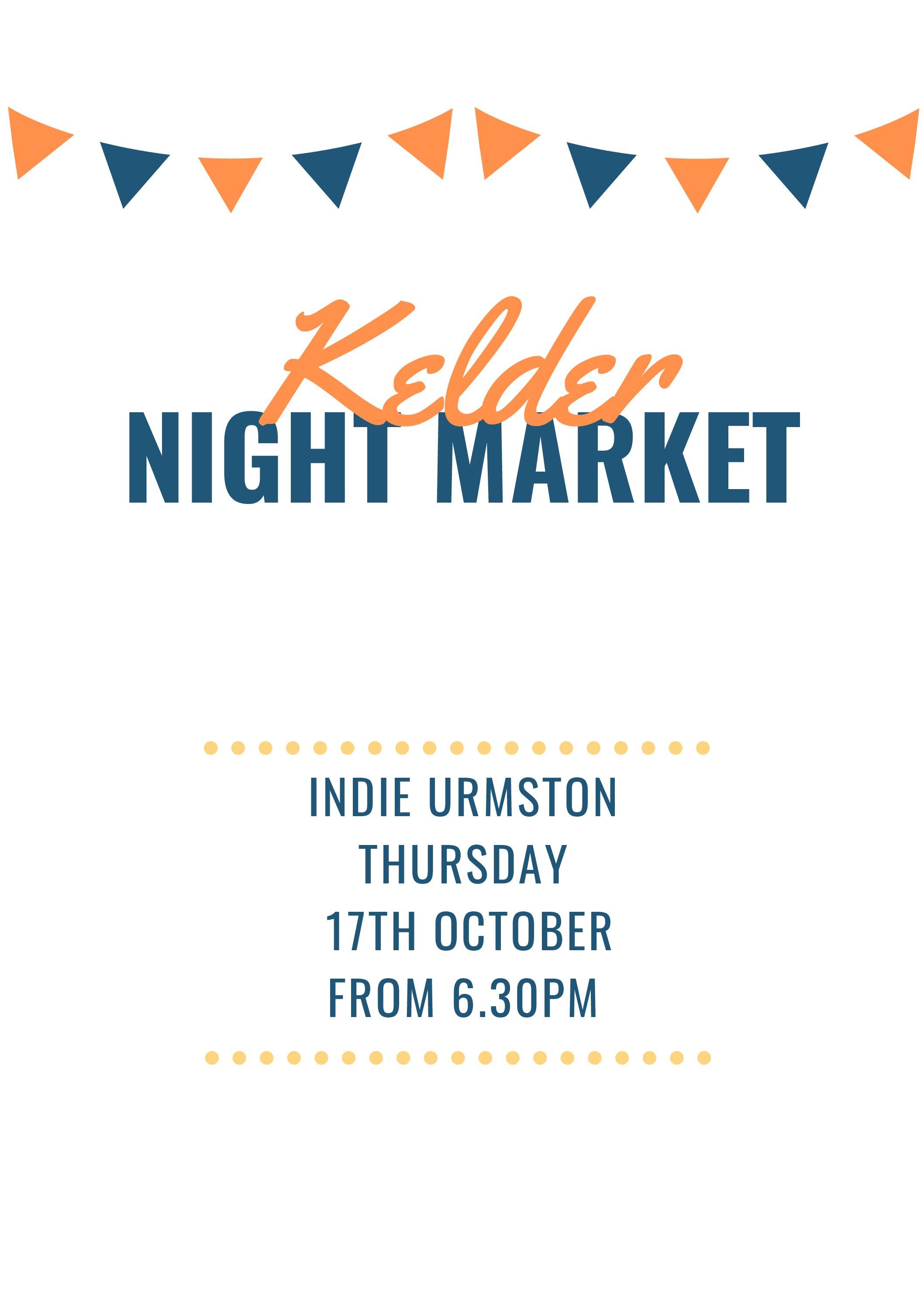Indie Urmston – Kelder Night Market