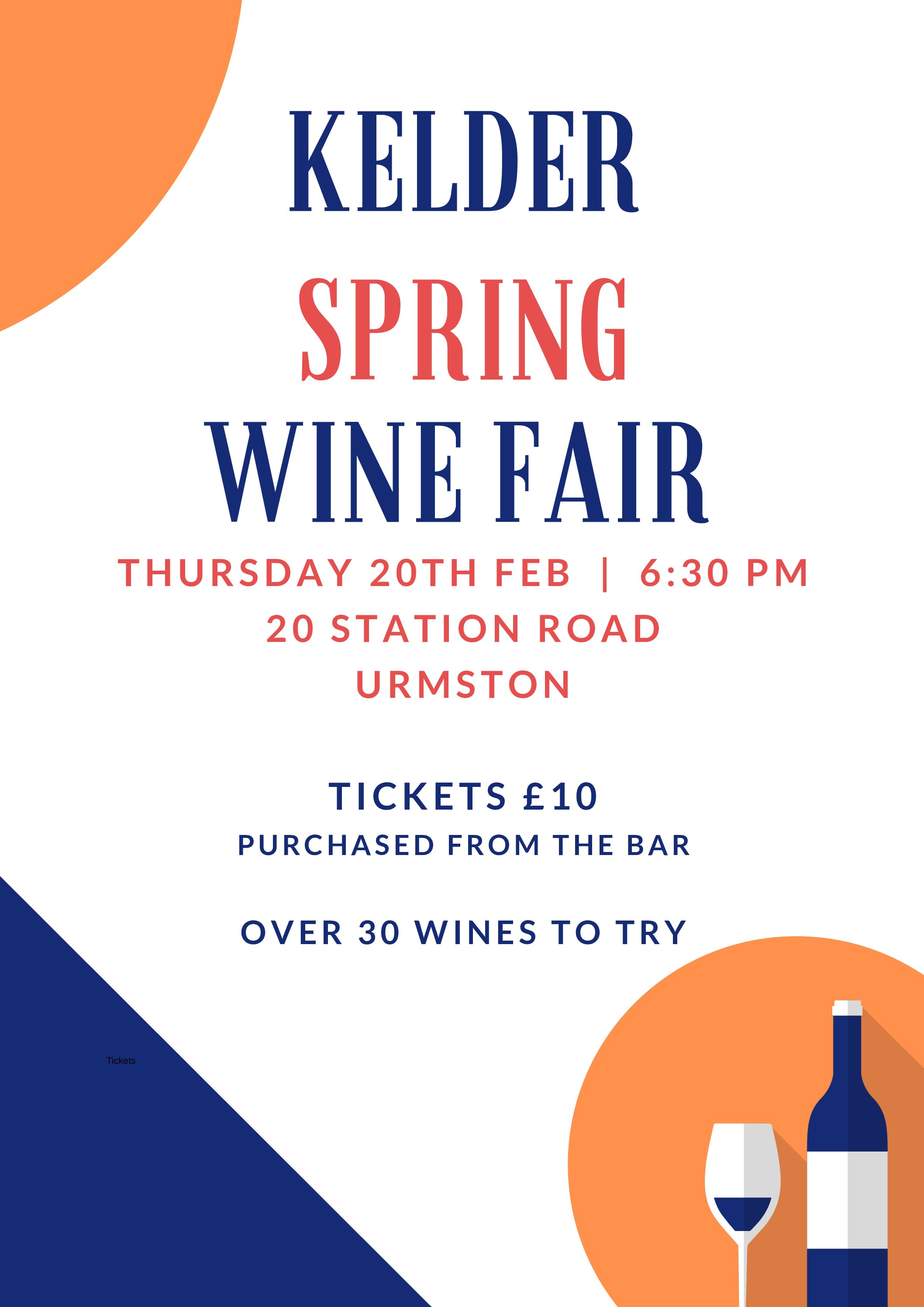 Indie Urmston Night – Spring Wine Fair