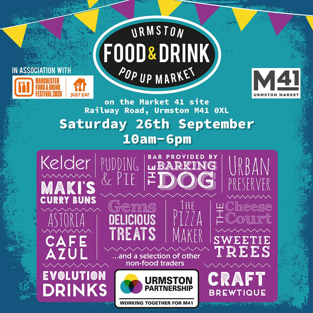 Urmston Food and Drink Pop Up Market